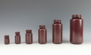 Amber Wide Mouth Bottles_HDPE (갈색 광구병_VWR)